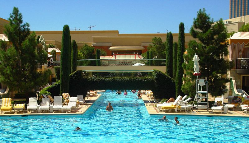 Spend the Day at The Pool, Relaxing in The Nevada Heat - Top 10 Things to Do In Las Vegas